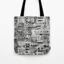 Exploiting Digital Behavior (P/D3 Glitch Collage Studies) Tote Bag