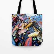 Leaves of a Strawberry Tree Tote Bag