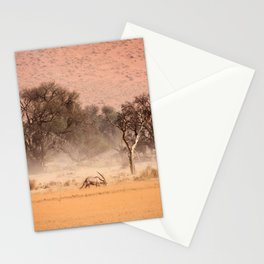 NAMIBIA ... through the storm II Stationery Cards