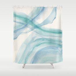 Sea Foam Shower Curtain