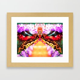 Where Can We Find You? Framed Art Print