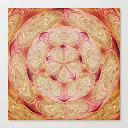 Pink Flowerball Canvas Print