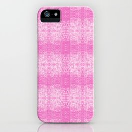 182 - light trails abstract pattern iPhone Case