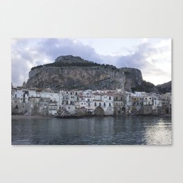 Cefalu's Shore Canvas Print
