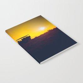 Morning African Safari Notebook