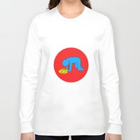 keith haring Long Sleeve T-shirts featuring Keith Haring style - Too much alcohol - Funny Illustration Pop Art by Estef Azevedo