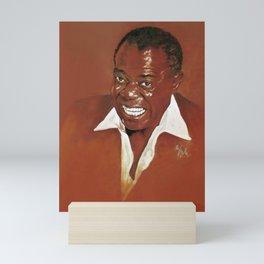 Louis Armstrong Mini Art Print