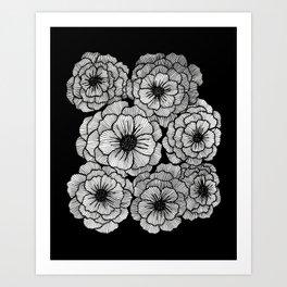 Poppy Patch Art Print