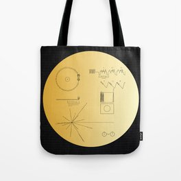 Voyager 1 Golden Record #2 Tote Bag