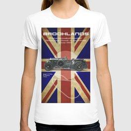 Brooklands Racetrack Vintage T-shirt