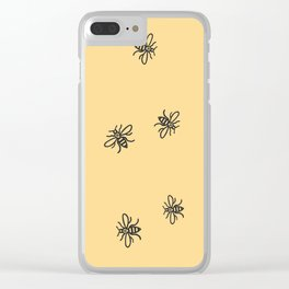 Bee Strong Clear iPhone Case