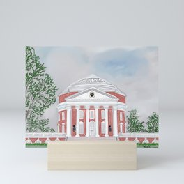 The Rotunda at UVA Mini Art Print
