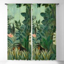 "Henri Rousseau ""The Equatorial Jungle"" Blackout Curtain"