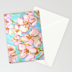 Cherry Blossom - painting by C. Stefan - ArtStudio29 Stationery Cards