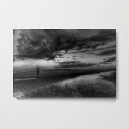Another place at sunset Metal Print