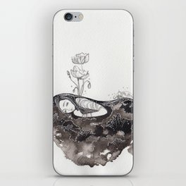 Dream with Poppies iPhone Skin