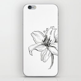 LILY - Pick Me! iPhone Skin