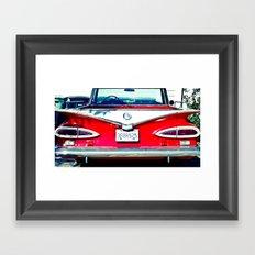 Nice Rear Framed Art Print