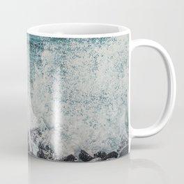 Splashing Waves on Rocks 03 Coffee Mug