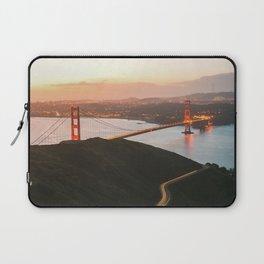 Golden Gate Bridge At Dawn - San Francisco, CA Laptop Sleeve