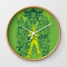 Tokyo-to Wall Clock
