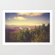 Endless Mountains Forever Wild Art Print