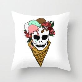 Hella Cool Throw Pillow
