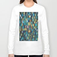 klimt Long Sleeve T-shirts featuring New Klimt  by Angela Capacchione
