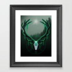Wild Horns Framed Art Print