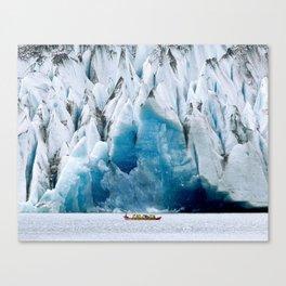 Ride to the Alaskan Glacier Canvas Print