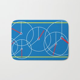 Clock lost Bath Mat