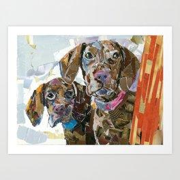 Stella and Angus II Art Print