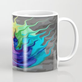 colorful flaming flower Coffee Mug