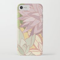 succulents iPhone & iPod Cases featuring Succulents by Julia Walters Illustration
