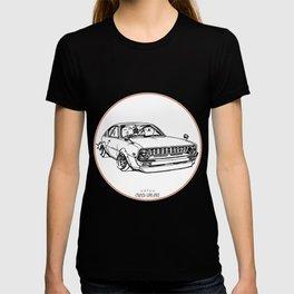 Crazy Car Art 0092 T-shirt