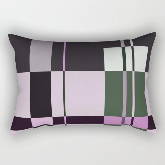 Interesting Geometry - Pale, pastel artwork Rectangular Pillow