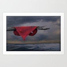 Heart on a Limb Art Print
