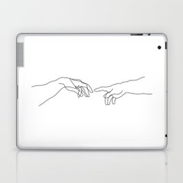 Creation of Adam Minimal Drawing Laptop & iPad Skin