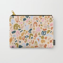 Abstract Paper Cuts Carry-All Pouch
