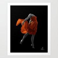 nike Art Prints featuring Nike by Olga Redina