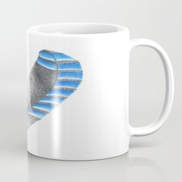 Blue Jay Feather Coffee Mug