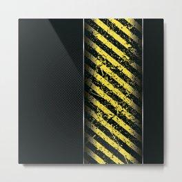 Danger V Metal Print