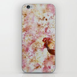 Rooster Chicken iPhone Skin