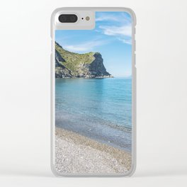 Sicily... a breath of summer Clear iPhone Case
