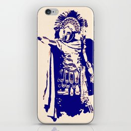 Greek hoplite warrior iPhone Skin