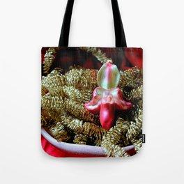 Ruby Glass Slipper Tote Bag