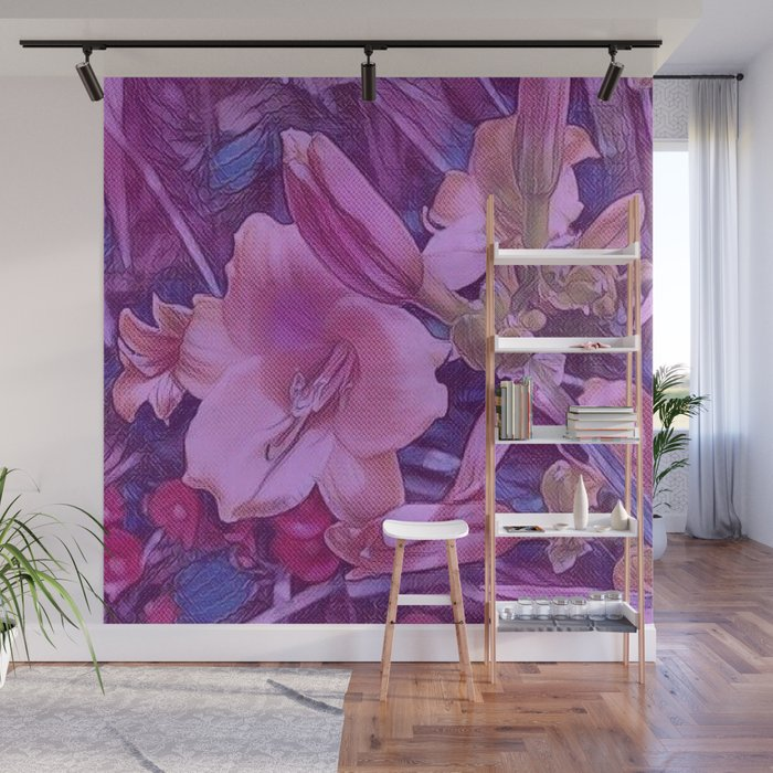 Beyond Beauty Wall Mural By Lillianhibiscus Society6