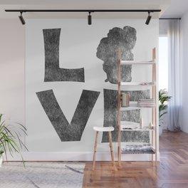 LOVE Tahoe inked Wall Mural