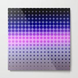 purp pattern Metal Print