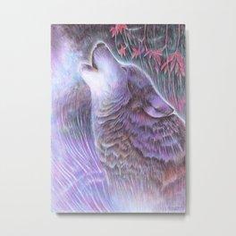 Howling Metal Print